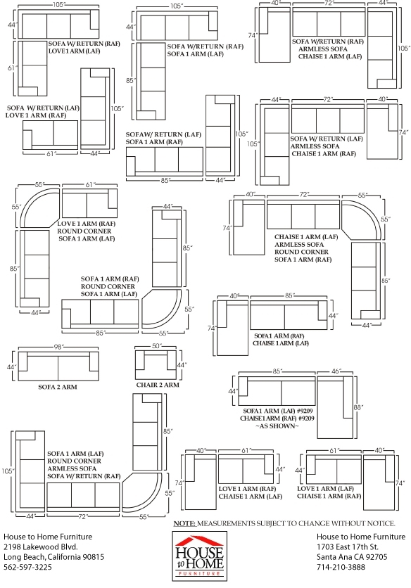 Sectional Sofa Sizes Clayton Sofa And Sectional Sizes – Serbyl Decor Regarding Sectional Sofas By Size (Photo 1 of 10)