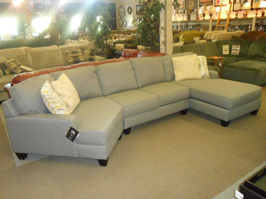 Sectional Sofa With Cuddler Chaise Ideas And Incredible Leather 2018 Regarding Sectional Sofas With Cuddler Chaise (View 4 of 10)