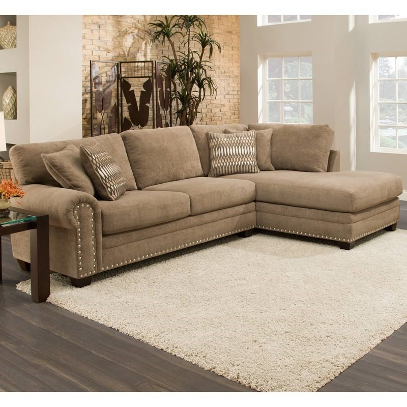 Sectional Sofa With Nailhead Trim | Jannamo Pertaining To Sectional Sofas With Nailheads (View 2 of 10)