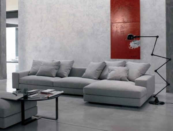 Sectional Sofas: Enzo Leather Sectional Sofa | Modern Sectional Within Vancouver Sectional Sofas (Image 7 of 10)