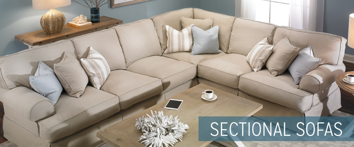 Sectional Sofas | Haynes Furniture, Virginia's Furniture Store Pertaining To Sectional Sofas (Image 5 of 10)