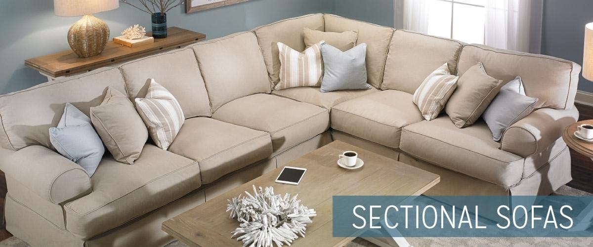 Sectional Sofas | Haynes Furniture, Virginia's Furniture Store With Haynes Sectional Sofas (Image 8 of 10)
