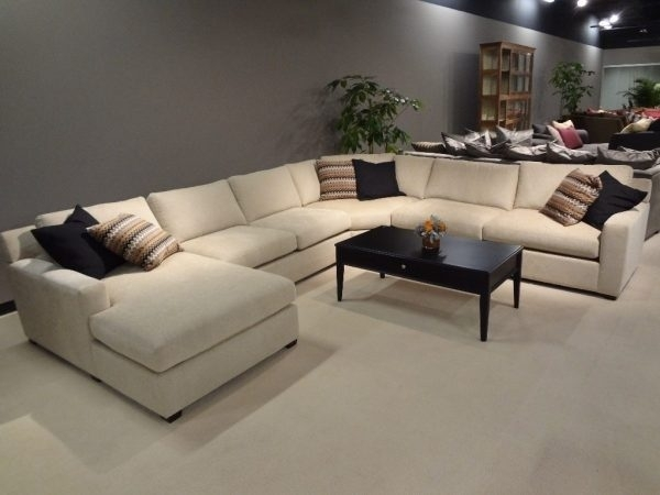 Sectional Sofas : Large L Shaped Sectional Sofas – Leather With Scarborough Sectional Sofas (Image 6 of 10)