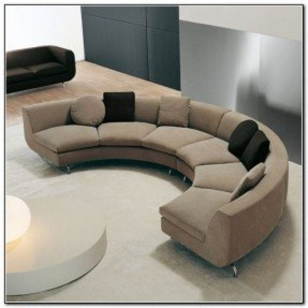 Sectional Sofas : Semi Circular Sectional Sofa – Curved Sectionals Intended For Semicircular Sofas (Image 6 of 13)