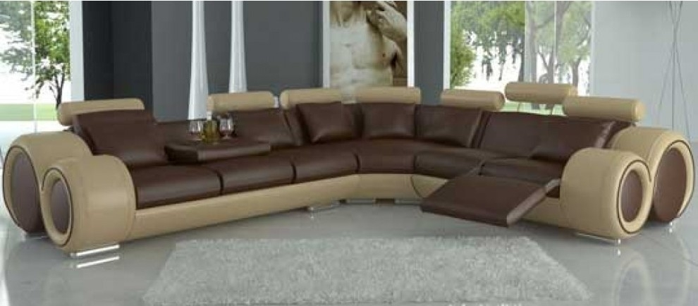 Sectional Sofas With Recliners In Living Room Modern Seat Regarding Intended For El Dorado Sectional Sofas (Image 7 of 10)