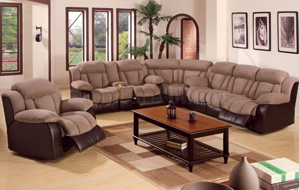 Sectional Sofas With Recliners Rice Lake Wi — Fabrizio Design Throughout Eau Claire Wi Sectional Sofas (Image 7 of 10)