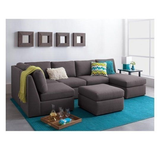 Sectionals For Small Spaces | Small Spaces, Apartment Therapy And Spaces Throughout Narrow Spaces Sectional Sofas (Image 5 of 10)