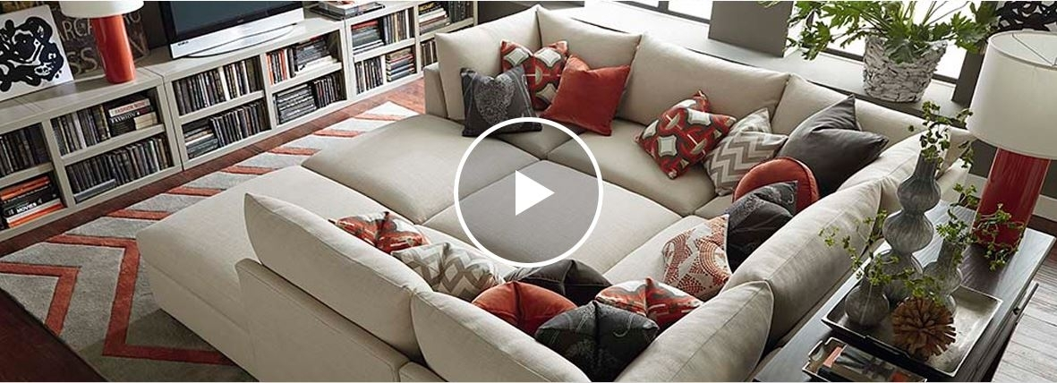 See All Of Beckham's Sectional Sofa Options | Bassett Furniture Pertaining To Sectional Sofas At Bassett (View 4 of 10)