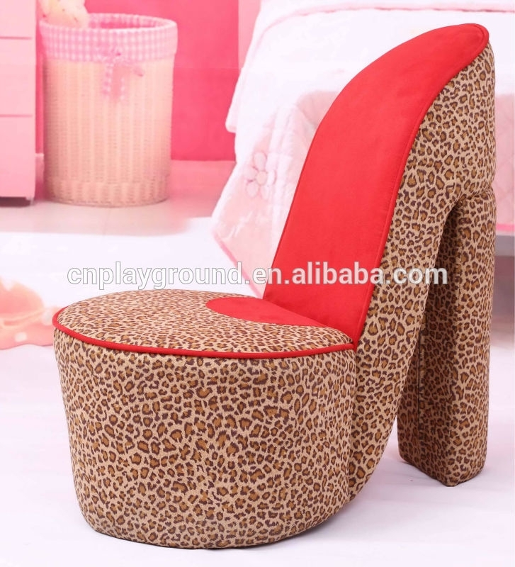 Sf 56 3) Shoes Design Baby Sofa / Baby Chairs And Sofas/high Heel Inside Heel Chair Sofas (Image 8 of 10)