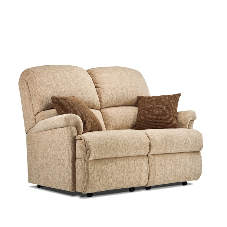 Sherborne Nevada 2 Seater Sofa – Small – Sherborne Suites Within Small 2 Seater Sofas (Image 9 of 10)