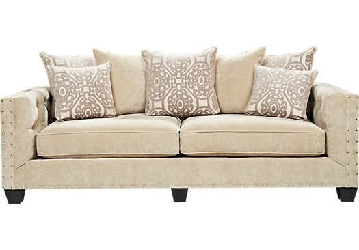 Shop For A Cindy Crawford Home Sidney Road Sofa At Rooms To Go (Image 10 of 10)