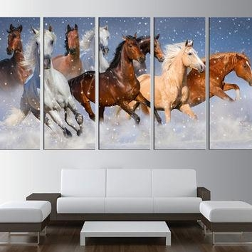 Shop Horse Canvas Art Prints On Wanelo Inside Horses Canvas Wall Art (Image 13 of 20)