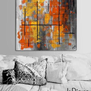 Shop Orange Wall Paint Colors On Wanelo Throughout Abstract Orange Wall Art (Image 17 of 20)