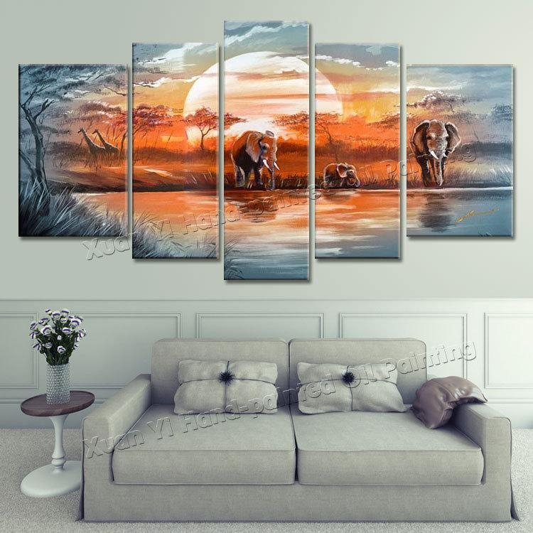 Featured Image of Hand Painted Canvas Wall Art