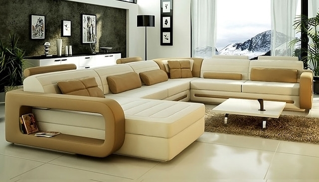 Shop U Shaped Sectional Sofa Products On Houzz U Shaped Sectional With Houzz Sectional Sofas (Image 9 of 10)