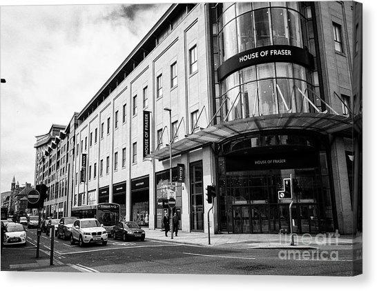 Shopping Centre Canvas Prints (Page #3 Of 23) | Fine Art America Regarding House Of Fraser Canvas Wall Art (Image 17 of 20)