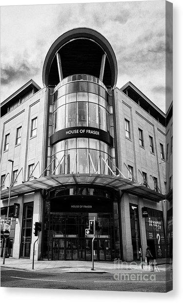 Shopping Centre Canvas Prints (Page #3 Of 23) | Fine Art America With House Of Fraser Canvas Wall Art (Image 18 of 20)