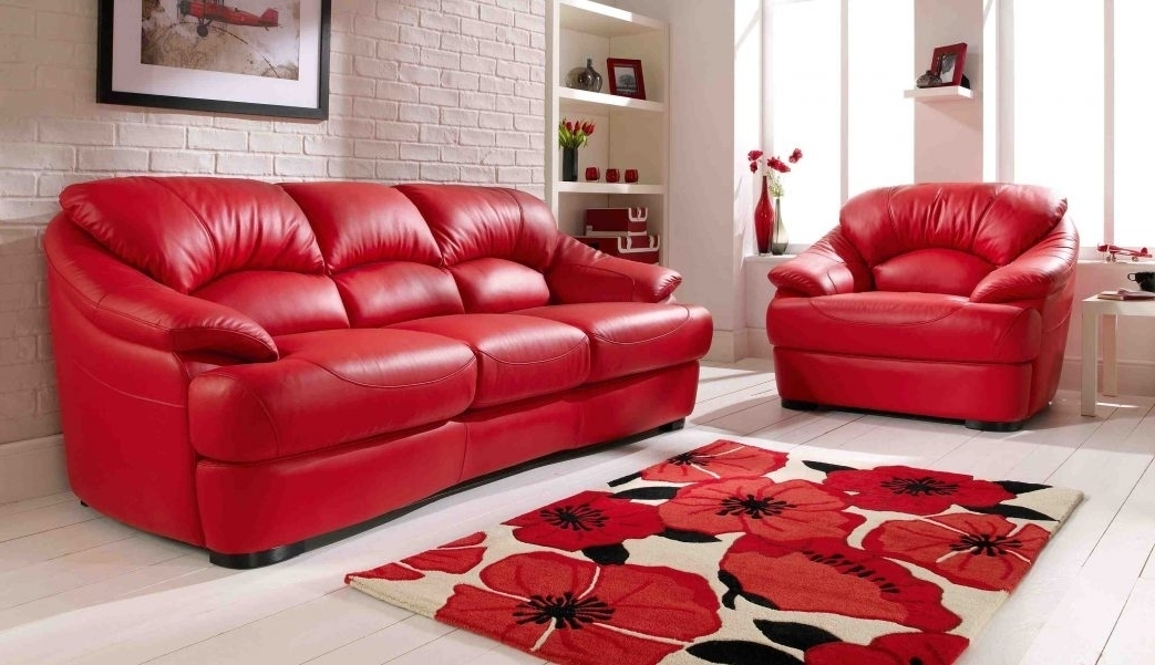 Showing Gallery Of Red Leather Couches And Loveseats (View 10 Of 10 Pertaining To Red Leather Couches And Loveseats (Image 10 of 10)
