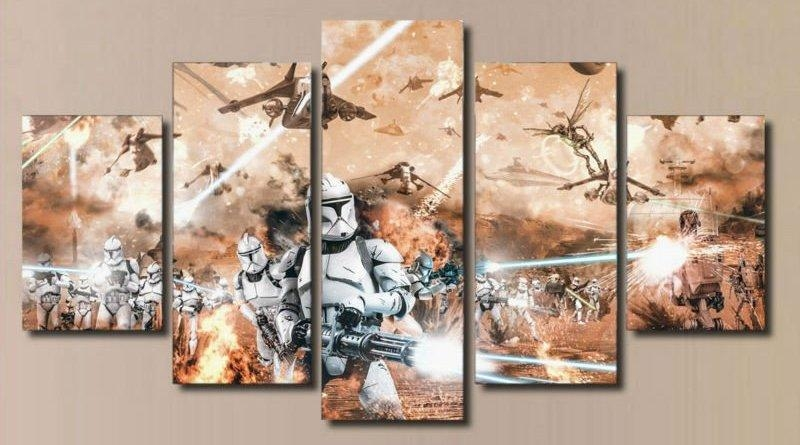 Sick Star Wars Canvas Prints For Your Wall – Spikey Bits Intended For Movies Canvas Wall Art (Image 18 of 20)