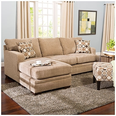 Simmons® Columbia Stone Sofa With Reversible Chaise At Big Lots Pertaining To Simmons Chaise Sofas (Image 5 of 10)