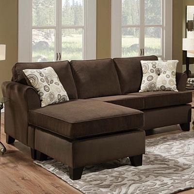Simmons® Malibu Beluga Sofa With Reversible Chaise At Big Lots (Image 10 of 10)