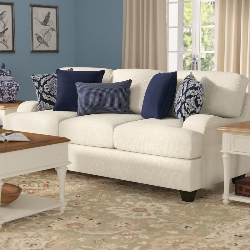 Simmons Upholstery Hattiesburg Stone Sofa & Reviews | Joss & Main For Hattiesburg Ms Sectional Sofas (Image 8 of 10)