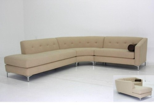 Singapore Sectional With Rounded Corner $1500 | Design I Love Regarding Rounded Corner Sectional Sofas (Image 9 of 10)