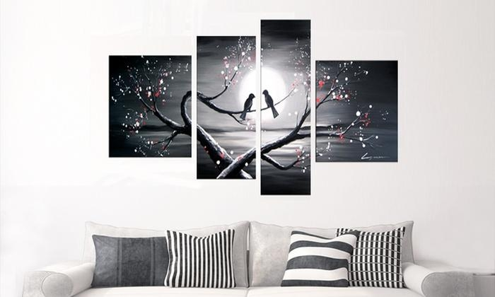 Single  And Multipanel Artwork | Groupon Goods For Groupon Canvas Wall Art (Image 18 of 20)