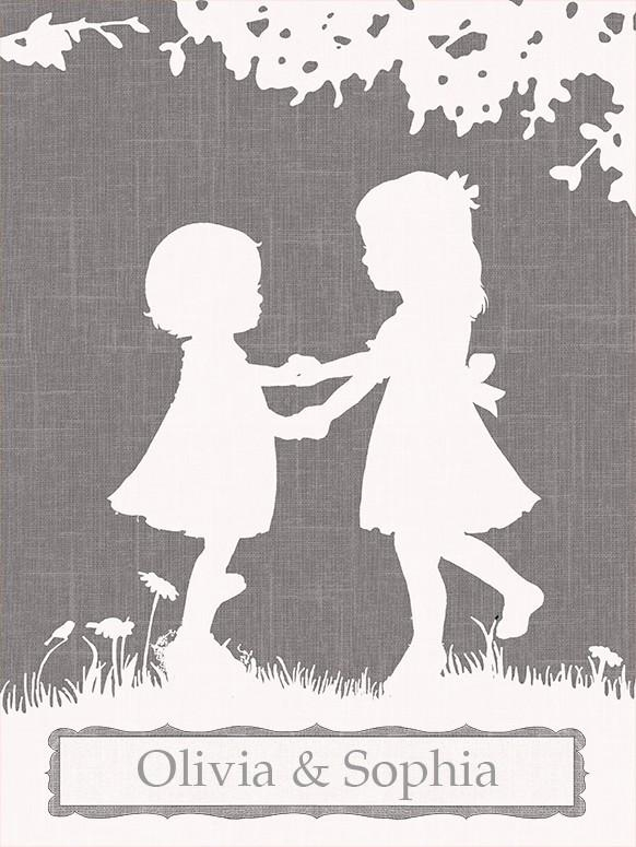 Sisters Dance Canvas Wall Artoopsy Daisy – Rosenberryrooms With Dance Canvas Wall Art (Image 16 of 20)