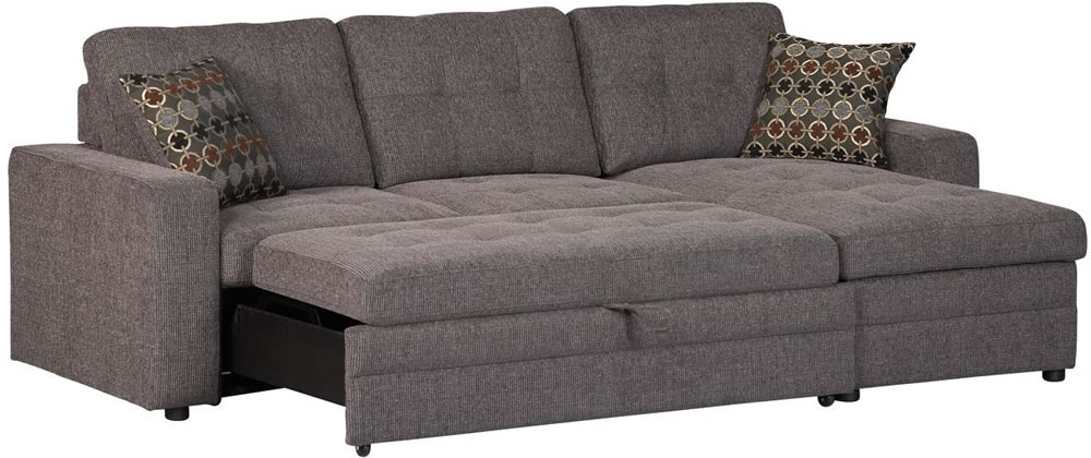 Sleeper Sectional Sofas With Chaise – Tourdecarroll Within Sectional Sofas With Sleeper (Image 9 of 10)