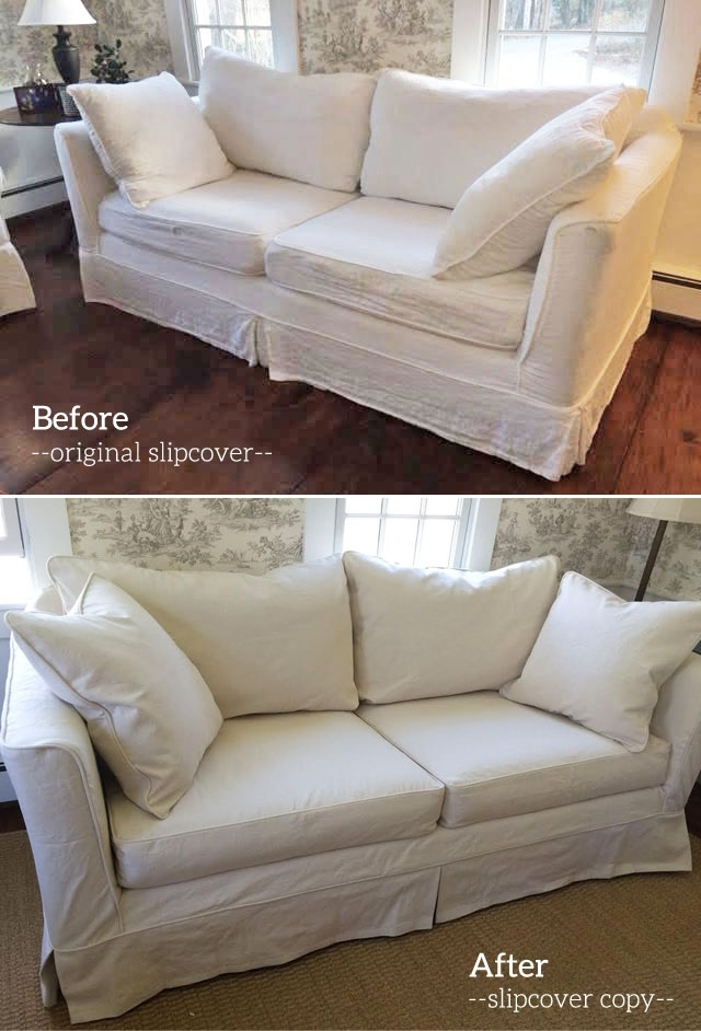 Slipcover Copy For Mitchell Gold Sofa | The Slipcover Maker With Mitchell Gold Sofas (Image 8 of 10)