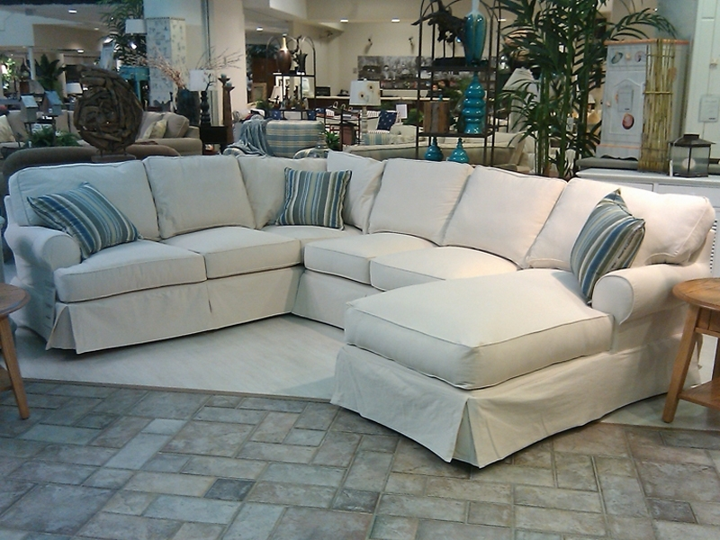 Slipcovers For Sectional Couches | Sectional Slipcovers | Pinterest With 3 Piece Sectional Sleeper Sofas (Photo 6 of 10)