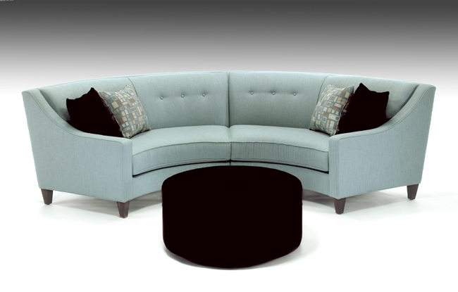 Small Rounded Sectional Sofa | Catosfera Pertaining To Rounded Sofas (View 4 of 10)
