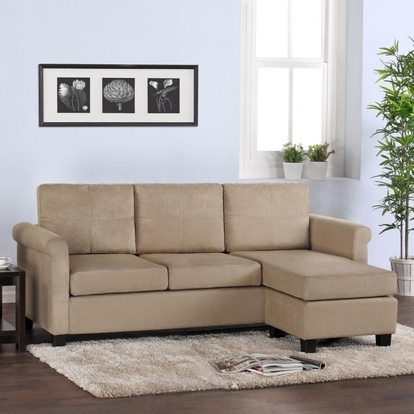 Small Sectional Sofa For Small Spaces Dorel Living Small — The Home For Small Spaces Sectional Sofas (Image 8 of 10)