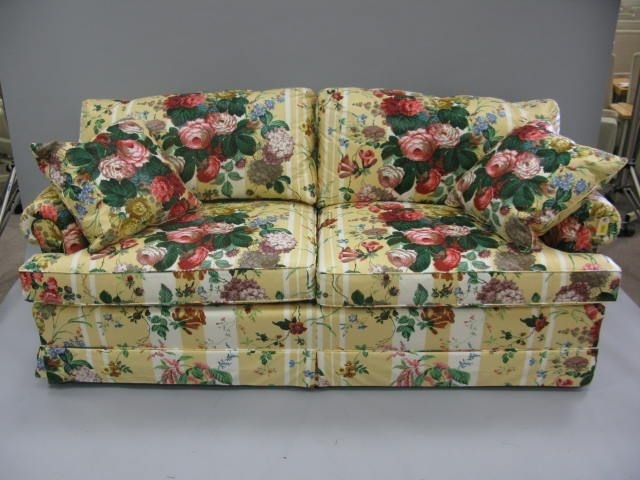 Small Sofa In Chintz Fabric – Google Search | Client 142 Drawing In Chintz Fabric Sofas (Image 9 of 10)