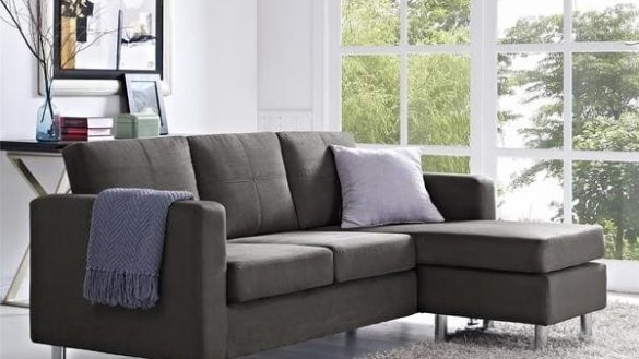 Small Space Sectional Sofa | Salevbags Inside Living Spaces Sectional Sofas (Image 9 of 10)
