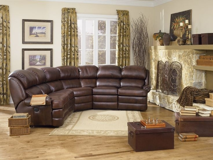 Smith Brothers Living Room Power Reclining Leather Sectional 178497 Inside Dayton Ohio Sectional Sofas (Image 10 of 10)