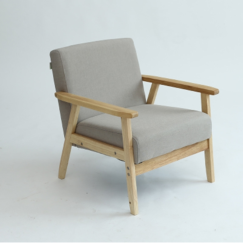 Sofa Arm Chair Solid Wood Foam Fill In Living Room Chairs From Pertaining To Sofa Arm Chairs (Image 7 of 10)