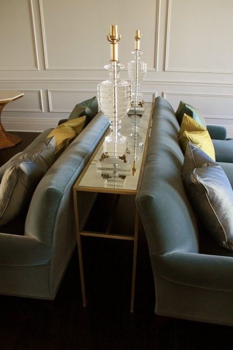 Sofa Back Table Designs | Couch And Sofa Set Intended For Sofas With Back Consoles (Image 8 of 10)