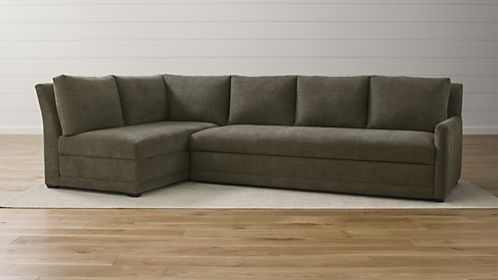 Sofa Beds And Sleeper Sofas | Crate And Barrel Regarding Dania Sectional Sofas (Image 8 of 10)