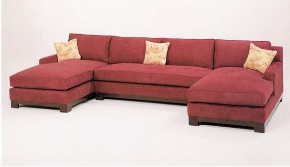 Sofa Beds Design: Amusing Ancient Sectional Sofa With 2 Chaises In Sectional Sofas With 2 Chaises (Image 8 of 10)