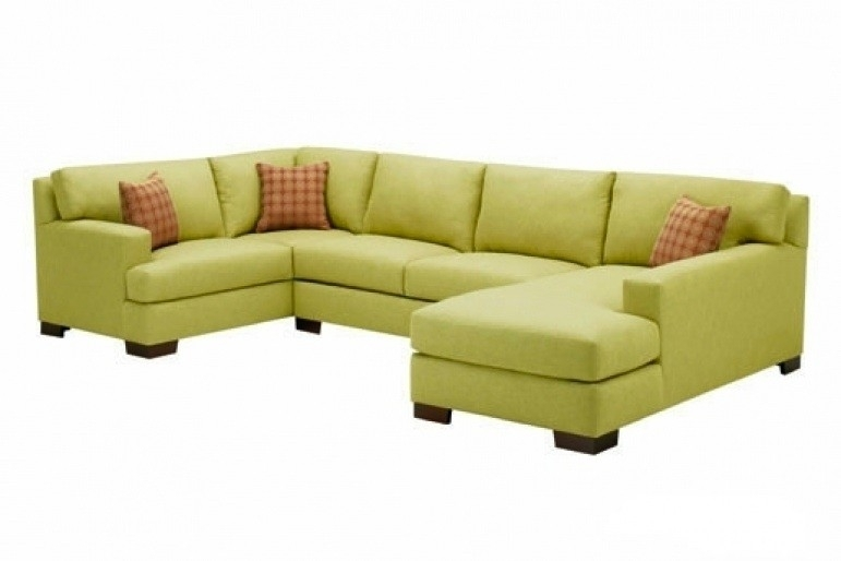 Sofa Beds Design: Amusing Unique Lime Green Sectional Sofa Ideas For For Green Sectional Sofas (Image 9 of 10)