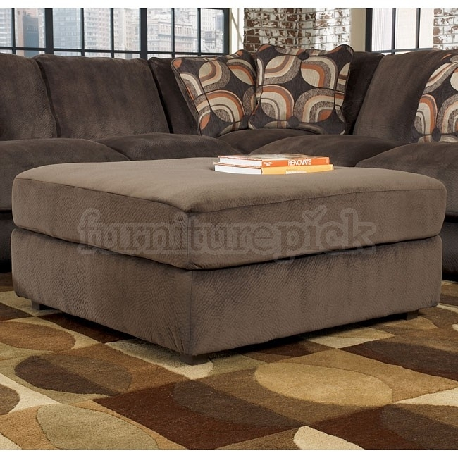 Sofa Beds Design: Astonishing Contemporary Sectional Sofa With Throughout Sectionals With Oversized Ottoman (Image 10 of 10)