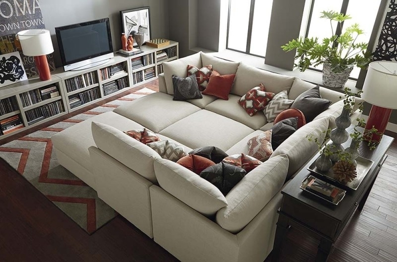 Featured Image of Sectional Sofas With Oversized Ottoman
