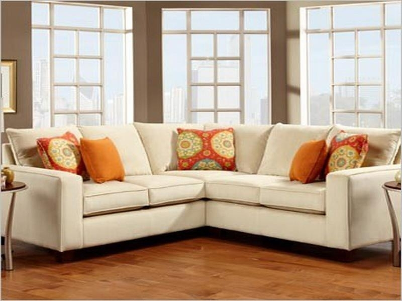 Sofa Beds Design: Astonishing Traditional Small Scale Sectional Sofa With Sectional Sofas In Small Spaces (Image 8 of 10)