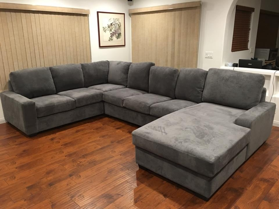 Sofa Beds Design: Attractive Ancient Wide Seat Sectional Sofas Within Wide Seat Sectional Sofas (Image 10 of 10)