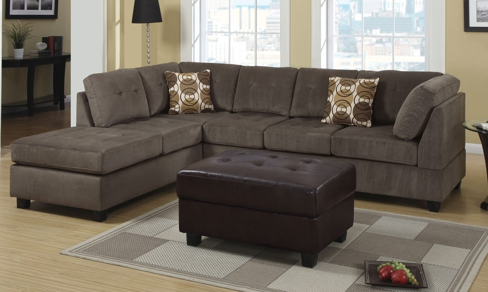 Sofa Beds Design: Awesome Contemporary 3 Seat Sectional Sofa Ideas Inside 2 Seat Sectional Sofas (Image 9 of 10)
