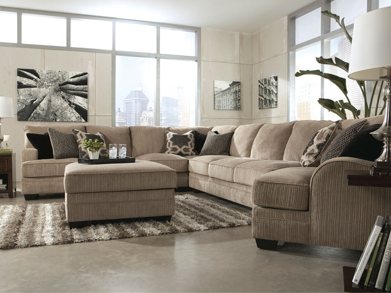Sofa Beds Design: Awesome Contemporary Oversized Sectionals Sofas Throughout Oversized Sectional Sofas (Image 10 of 10)