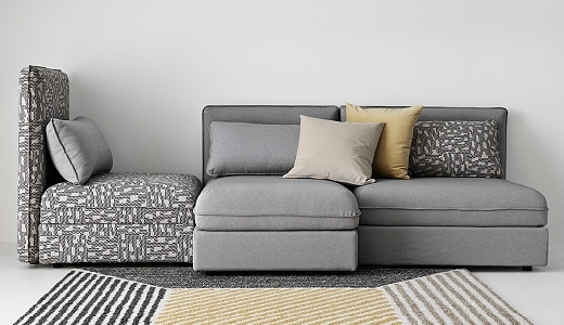 Sofa Beds Design: Beautiful Modern Very Small Sectional Sofa Design Intended For Small Modular Sectional Sofas (Image 10 of 10)