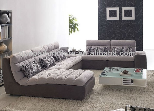Sofa Beds Design: Elegant Unique Goose Down Sectional Sofa Design With Goose Down Sectional Sofas (Image 9 of 10)